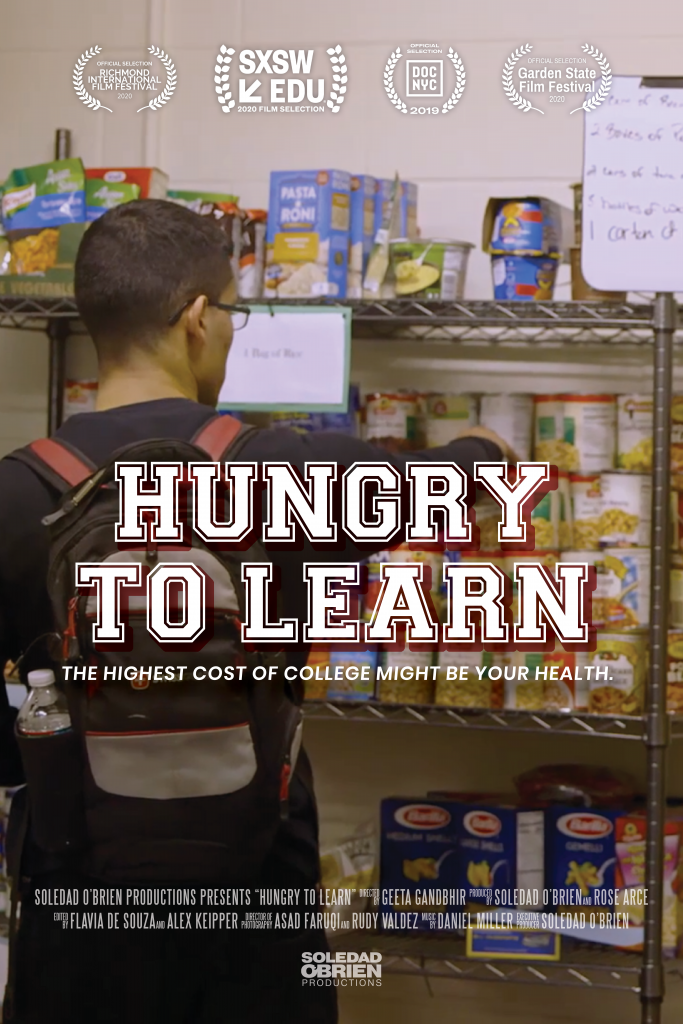 Hungry to learn film poster